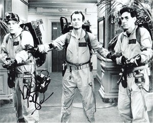 Dan Aykroyd autographed Ghostbusters 8x10 photo