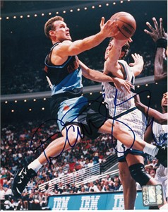 Dan Majerle autographed Cleveland Cavaliers 8x10 photo
