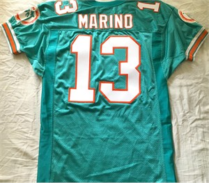 Dan Marino Miami Dolphins 1994 original authentic Wilson game model size 46 jersey
