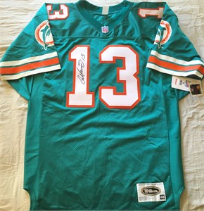Dan Marino autographed Miami Dolphins 1996 authentic Wilson game model aqua jersey NEW WITH TAGS