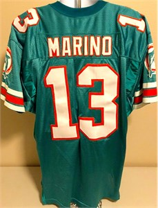 Dan Marino Miami Dolphins 1996 original authentic Wilson double stitched game model jersey