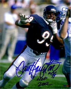Dan Hampton autographed Chicago Bears 8x10 photo