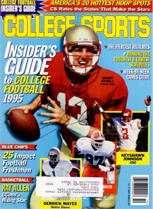 Danny Kanell autographed Florida State Seminoles College Sports magazine cover