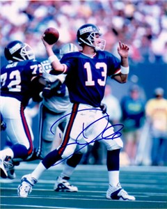 Danny Kanell autographed New York Giants 8x10 photo