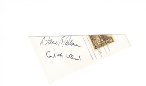 Dave R. Palmer and Carl F. Ullrich (Army West Point) autographs or cut signatures