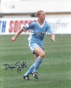 Dayna Smith autographed WUSA Atlanta Beat 8x10 photo