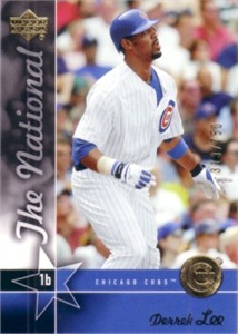 Derrek Lee 2005 Upper Deck National Convention promo card #/750