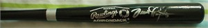 Dennis Haysbert autographed Rawlings mini baseball bat