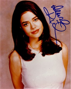 Denise Richards autographed 8x10 photo