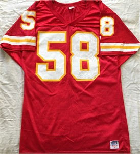 Derrick Thomas Kansas City Chiefs authentic Wilson red replica jersey (no name)