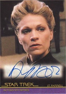 Dendrie Taylor Star Trek certified autograph card