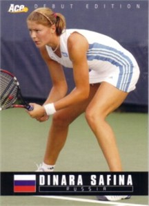 Dinara Safina 2005 Ace Authentic Rookie Card