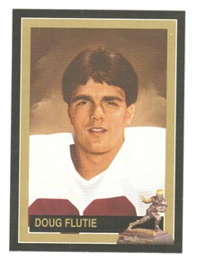 Doug Flutie Boston College 1984 Heisman Trophy winner card