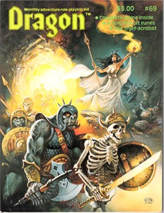 Dragon Magazine issue 69 (January 1983)