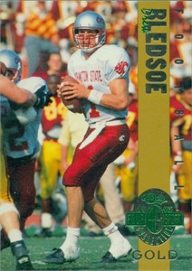 Drew Bledsoe Washington State 1993 Classic 4-Sport Gold card (1 of 3900)