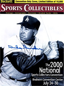Duke Snider autographed Los Angeles Dodgers 8x10 photo