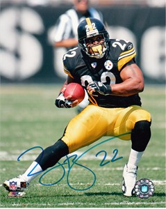 Duce Staley autographed Pittsburgh Steelers 8x10 photo