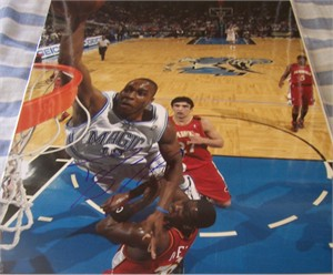 Dwight Howard autographed Orlando Magic 11x14 photo