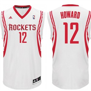 Dwight Howard Houston Rockets white Adidas replica jersey NEW WITH TAGS