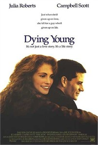 Dying Young full size 27x40 movie poster (Julia Roberts)