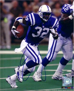Edgerrin James autographed Indianapolis Colts 8x10 photo