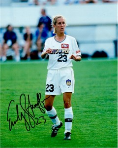 Emily Stauffer autographed WUSA New York Power 8x10 photo