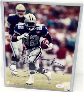 Emmitt Smith autographed Dallas Cowboys 8x10 photo