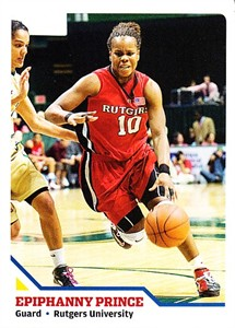 Epiphanny Prince Rutgers 2008 Sports Illustrated for Kids card #256
