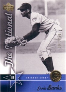 Ernie Banks 2005 Upper Deck National Convention promo card #/750