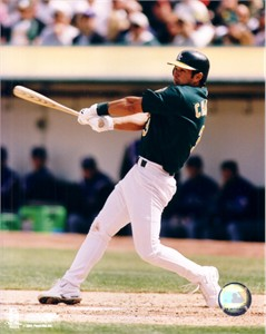 Eric Chavez Oakland A's 8x10 photo