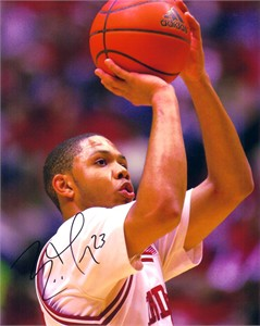 Eric Gordon autographed Indiana Hoosiers 8x10 photo