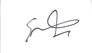 Eric Hutchinson autograph or cut signature