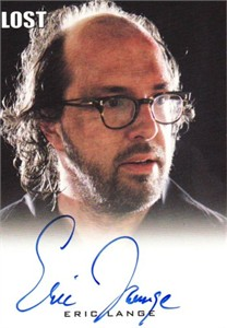 Eric Lange LOST certified autograph card