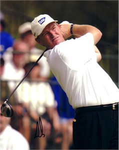 Ernie Els autographed 8x10 golf photo