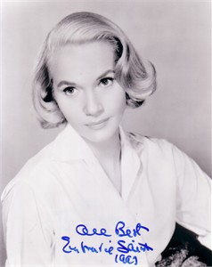 Eva Marie Saint autographed North by Northwest 8x10 photo dated 1999