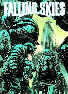 Falling Skies 2013 Graphic Novel Pinup Art chase card #10 (rare DVD set insert)