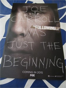 The Following 2014 Comic-Con 11x17 mini promo poster