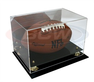 Football deluxe acrylic display case