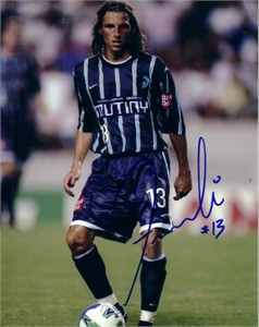 Frankie Hejduk autographed MLS Tampa Bay Mutiny 8x10 photo