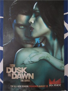 From Dusk Till Dawn Series 2015 San Diego Comic-Con 11x17 promo poster MINT