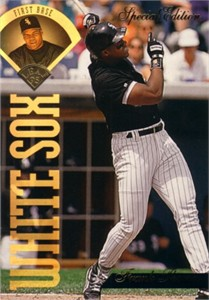 Frank Thomas 1994 Leaf Special Edition jumbo card (#/10000)