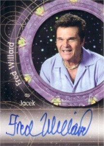 Fred Willard certified autograph Stargate SG-1 card