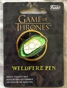 Game of Thrones 2017 San Diego Comic-Con Funko Wildfire Pin NEW