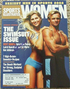 Gabrielle Reece autographed Sports Illustrated for Women magazine cover
