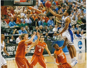Gerald Henderson autographed Duke Blue Devils 8x10 photo