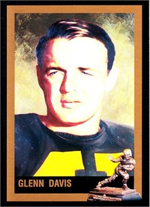 Glenn Davis Army 1946 Heisman Trophy winner card