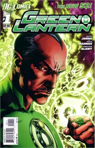 Green Lantern November 2011 New 52 DC comic book issue #1 MINT (Geoff Johns)