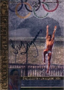 Greg Louganis certified autograph 1996 U.S. Olympic Upper Deck card