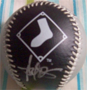 Harold Baines autographed Chicago White Sox baseball