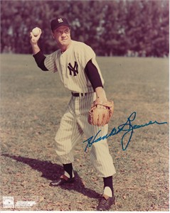 Hank Bauer autographed New York Yankees 8x10 photo
